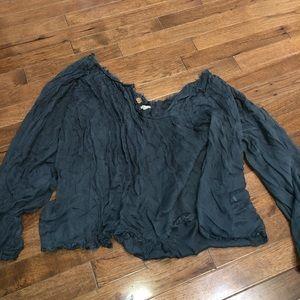 Free People flowy blouse